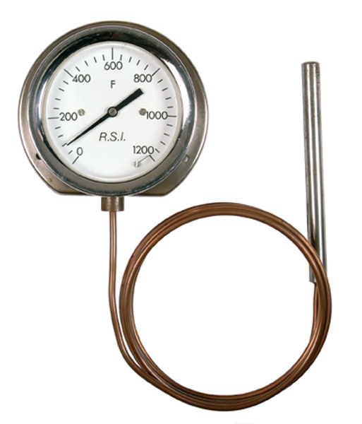 Back Flange Surface Mounted Dial Thermometer